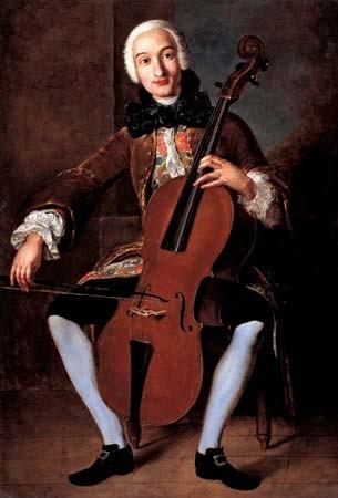 Luigi Boccherini, painting by Italian school, 18th century