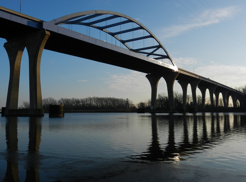 The Leo Frigo Memorial Bridge