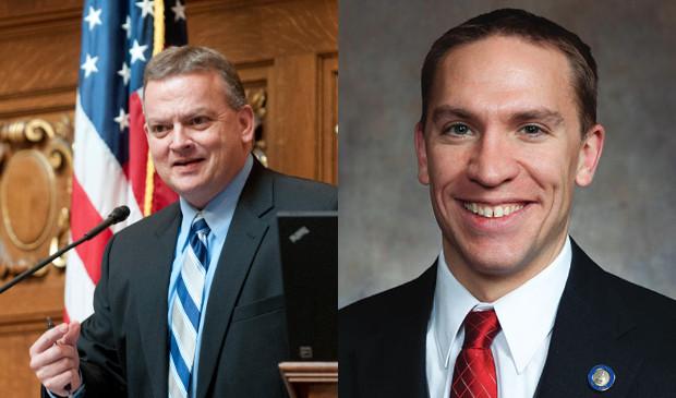 Rep. Bill Kramer and Sen. Chris Larson