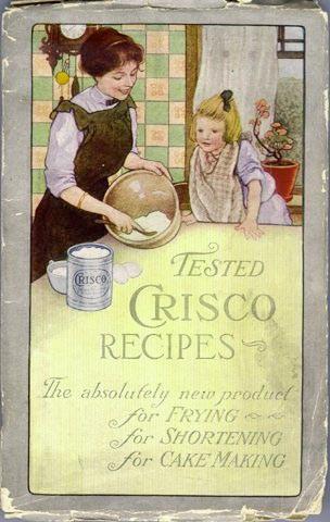 Crisco cookbook cover, 1912, public domain