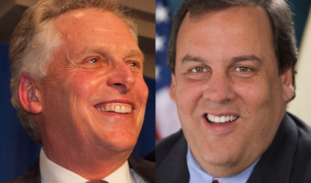 Terry McAuliffe and Chris Christie