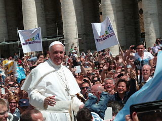 Pope Francis, image by Wikimedia Commons user Edgar Jiménez