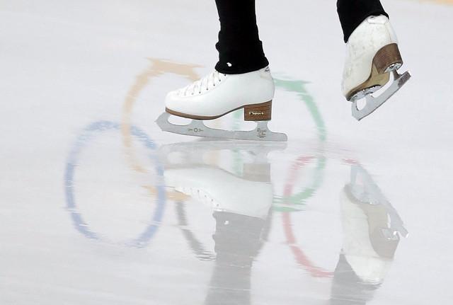 ice skates at olympics