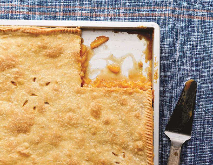 Gracious plenty peach pie