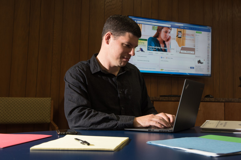 Sextortion, Justin Patchin, criminal justice, UW-Eau Claire, cyberbullying