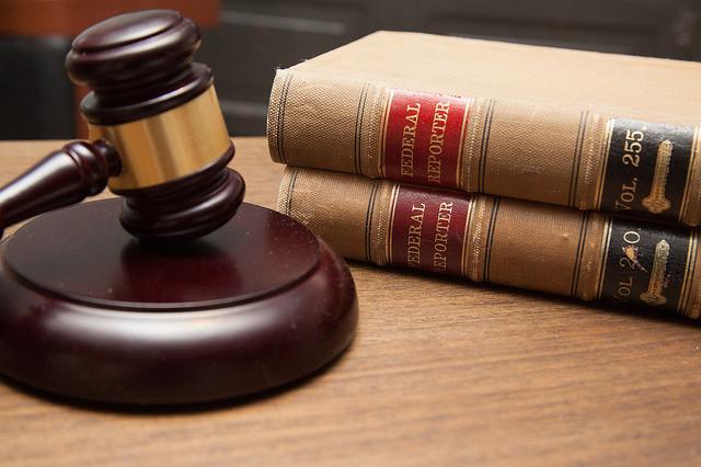 Court Gavel Legal Books
