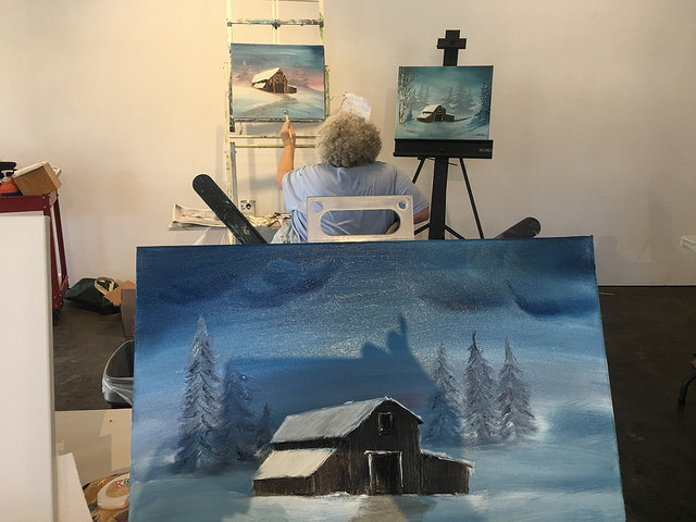 The Growing Fanbase Of Happy Little Trees Painter Bob Ross