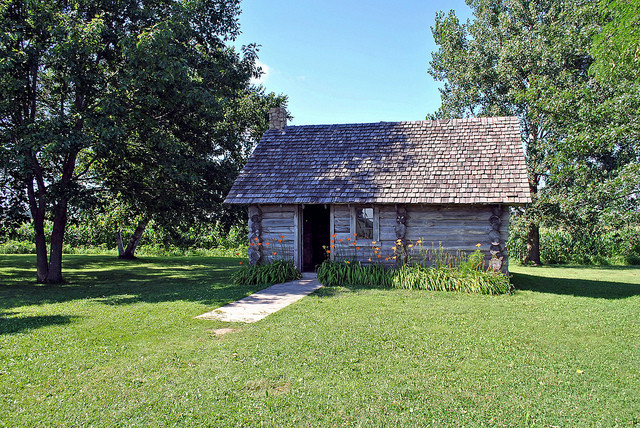 Laura Ingalls Wilder's home in Pepin County, WI