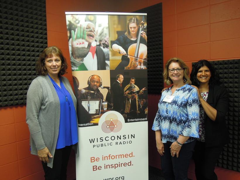 Laurel Burnett, Dr. Laurel Hilliker and Dr. Erica Srinivasan