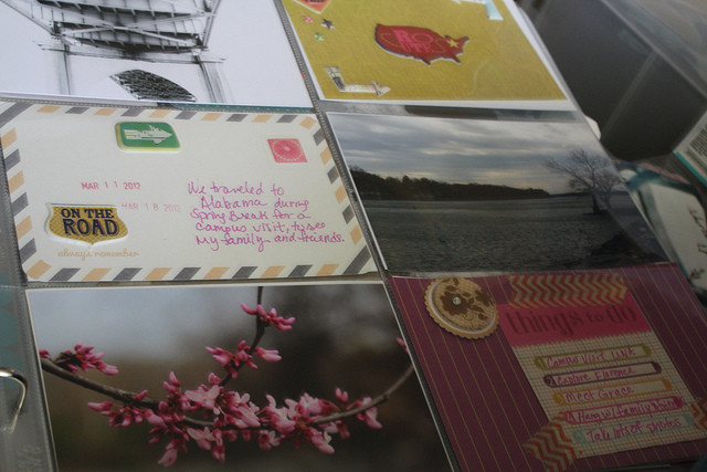 photo album and scrapbook