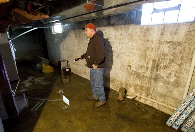 flooding in basement