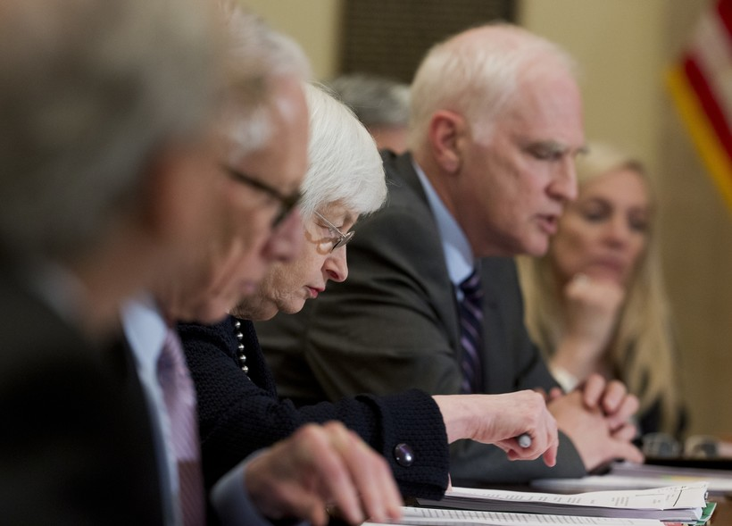 Federal Reserve System' Board of Governors meeting