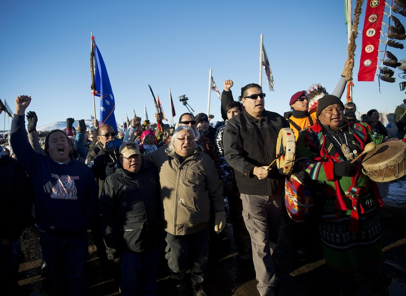 Standing Rock North Dakota Protest 2016