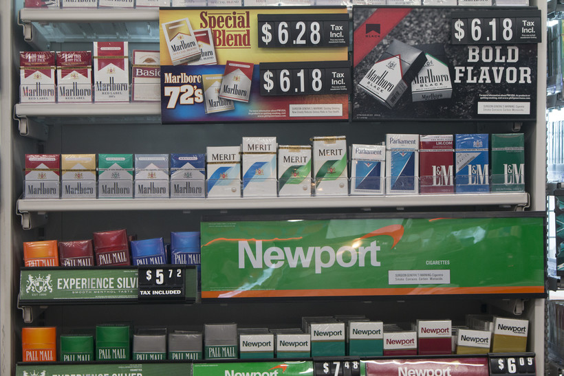 Newport, cigarettes, racial disparity