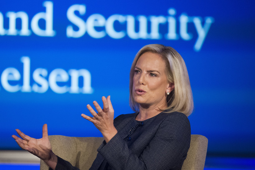 Kirstjen Nielsen, George Washington University, Homeland Security, cyber security, terrorism, cyber threats