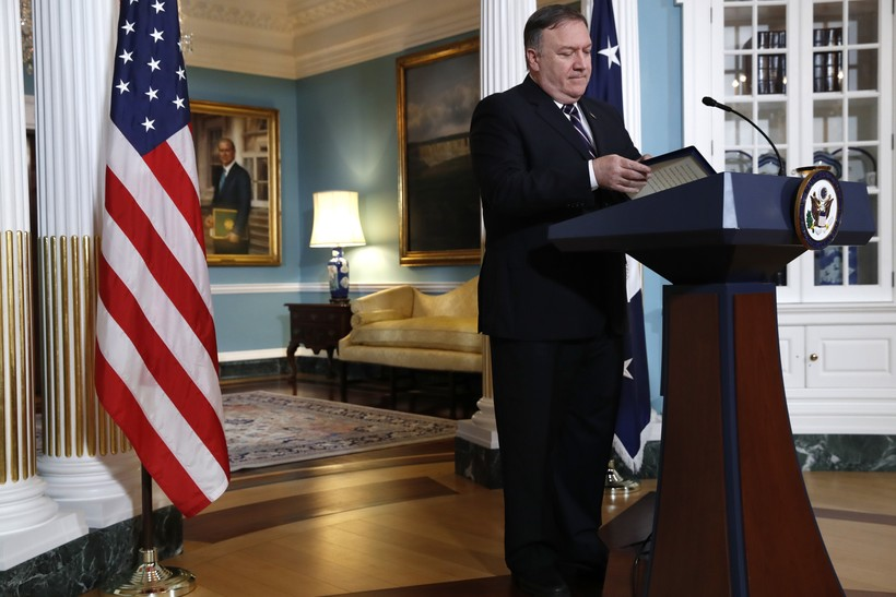 mike pompeo secretary of state