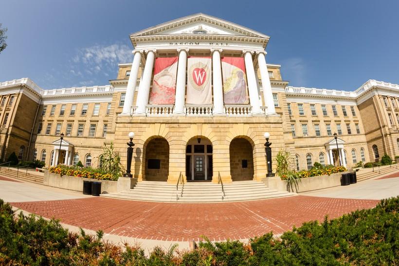 Bascom Hall on the University of Wisconsin-Madison campus