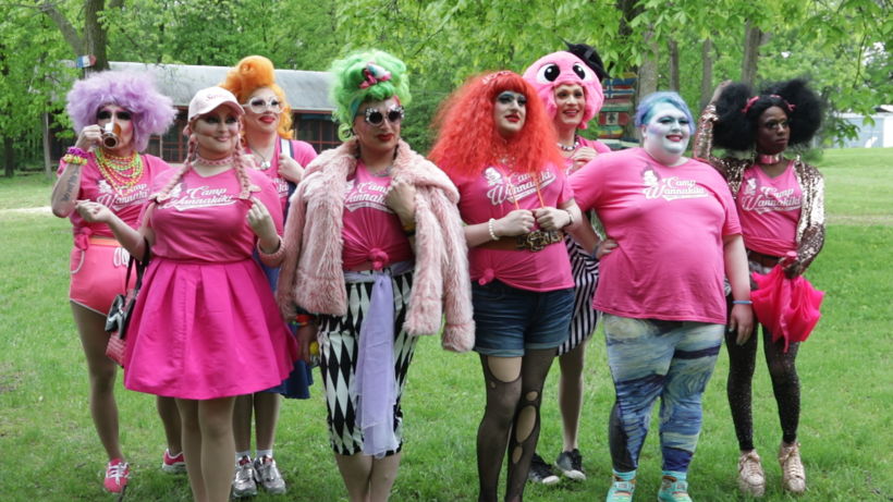 camp wannakiki drag queens