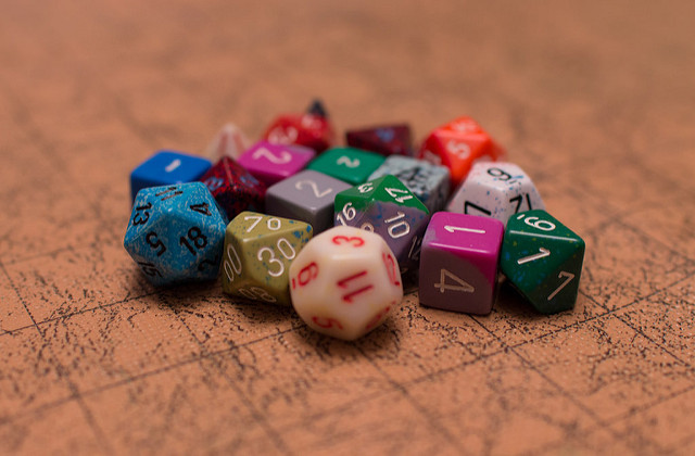 D& D, Dungeons & Dragons, boad game, fantasy, dice