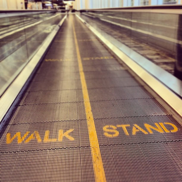 Walk or stand signs