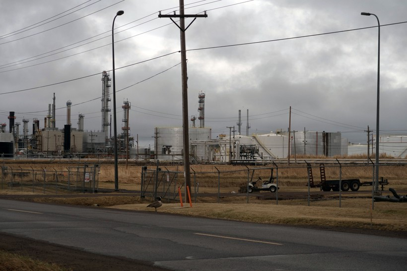 Husky Energy oil refinery