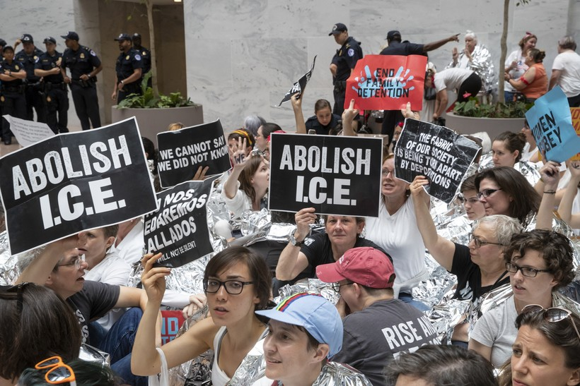 ICE protesters