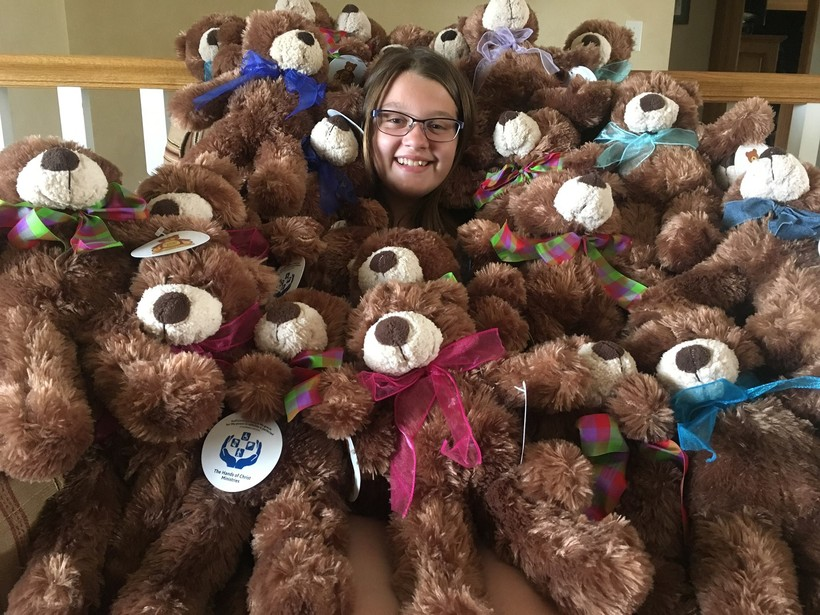 Lia Haile, Hope House, teddy bears