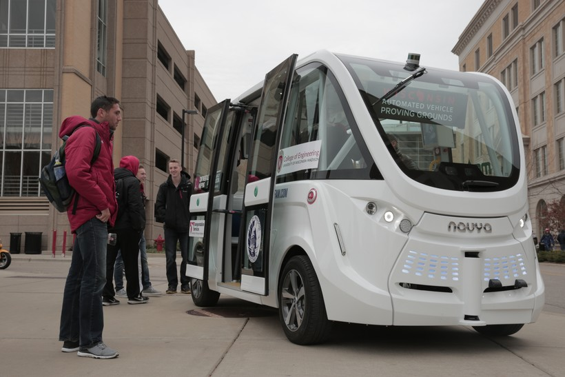 Navya self-driving shuttle
