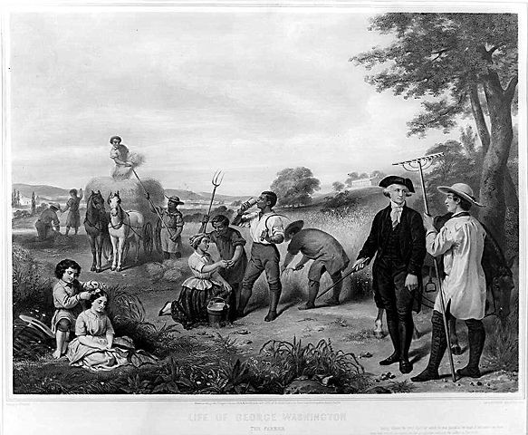 """Life of George Washington--The Farmer"""