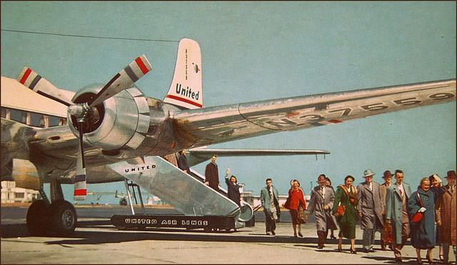 air travel, 1950sUnlimited (CC-BY)