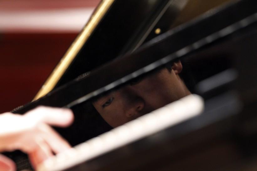 pianist close-up