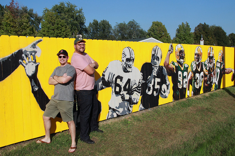 Packers fence