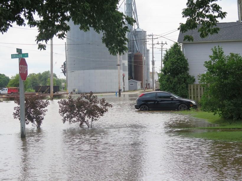 Flooding in Burlington