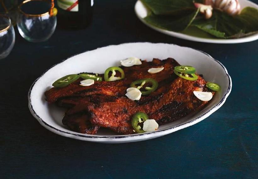 Gochujang-Cured Pork Belly BBQ