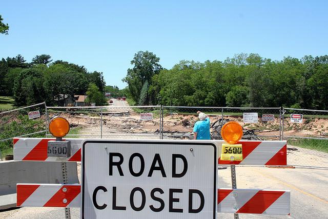 road construction, Bill & Vicki T (CC-BY-NC-ND)