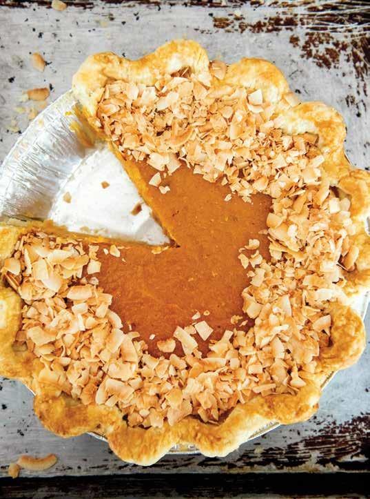 Sweet Potato Coconut Pie