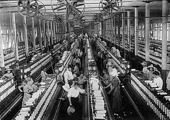 textile Workers, Mississippi, image by National Archives and Records Administration