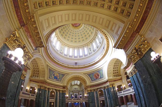 Wisconsin capital interior
