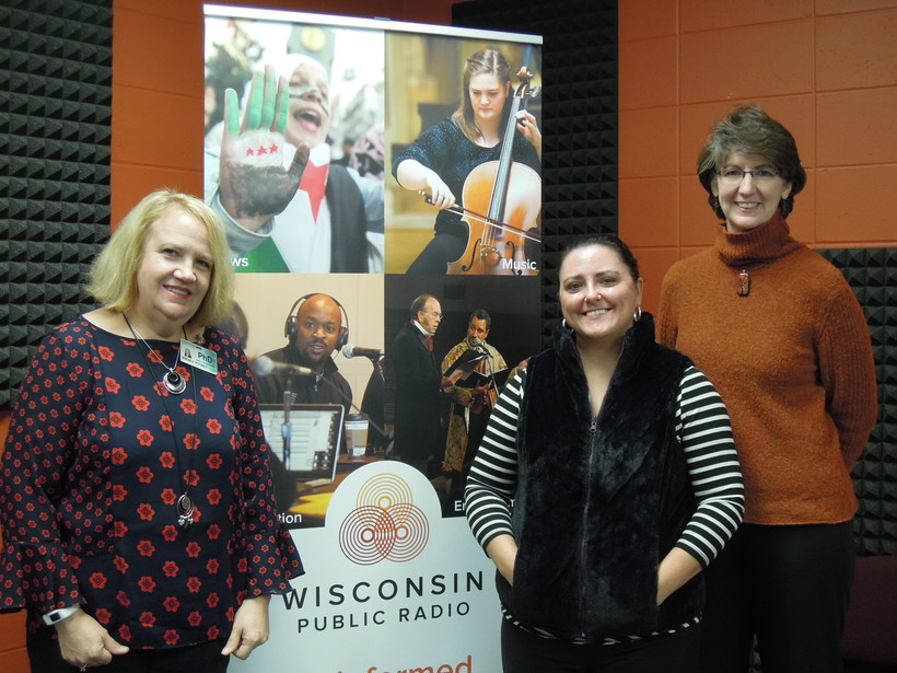 Brenda Rooney, Jen Rombalski and Catherine Kolkmeier