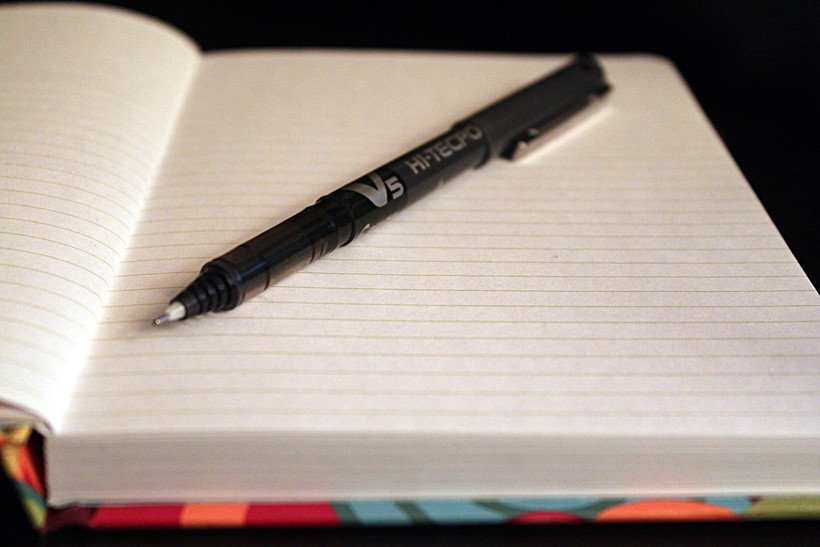 Notebook Pen Paper Page Writing Story