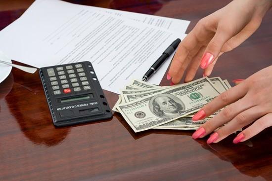 Calculator, money