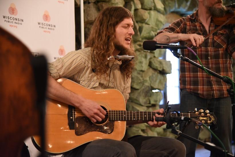 Joseph Huber performing