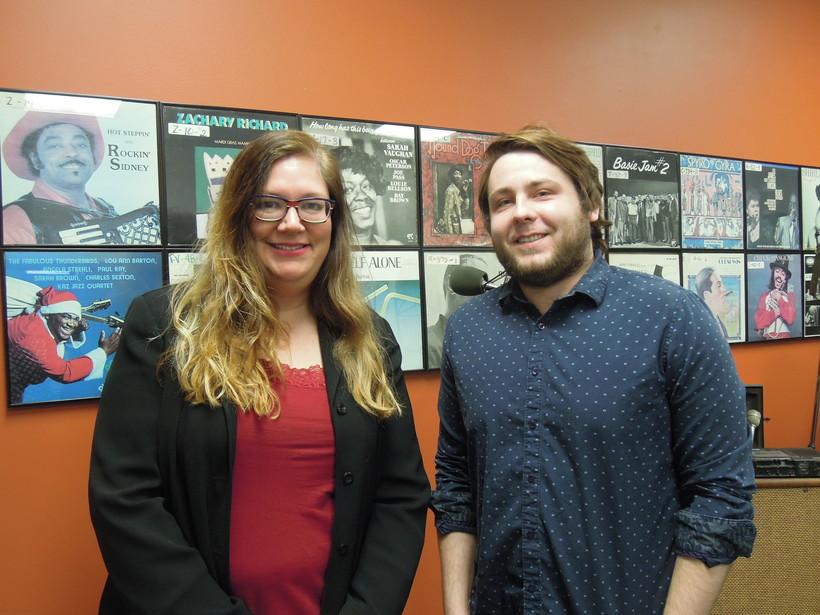 Lissa Carlson and Aaron Reimler