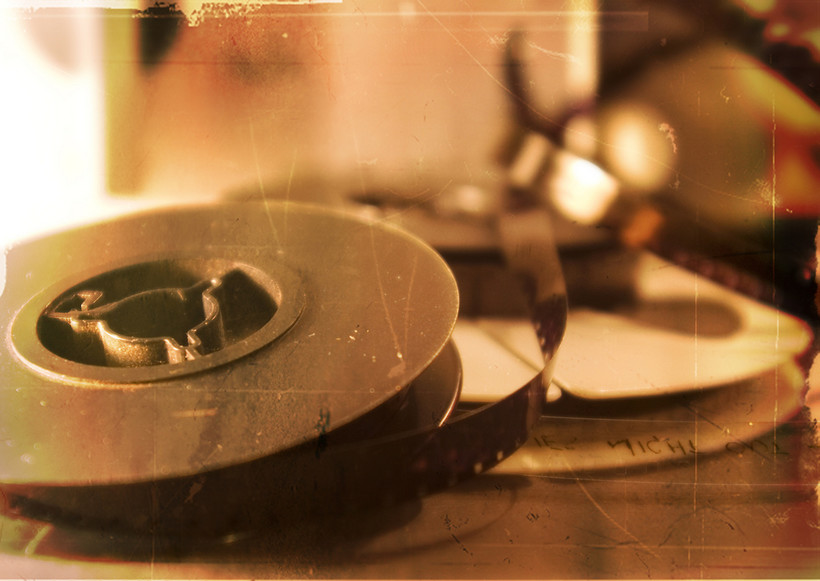 old reel of film