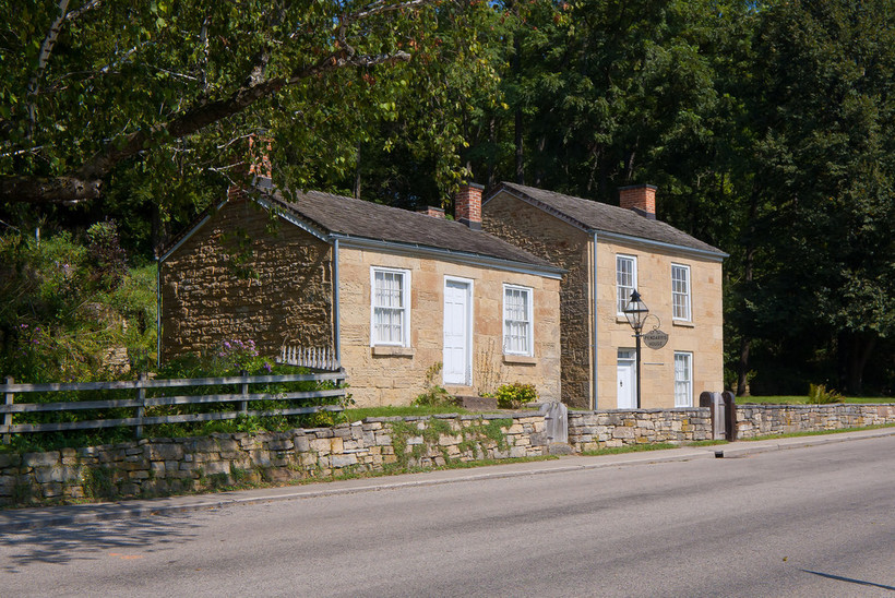 Pendarvis House and Trelawny House, Mineral Point, Wisconsin