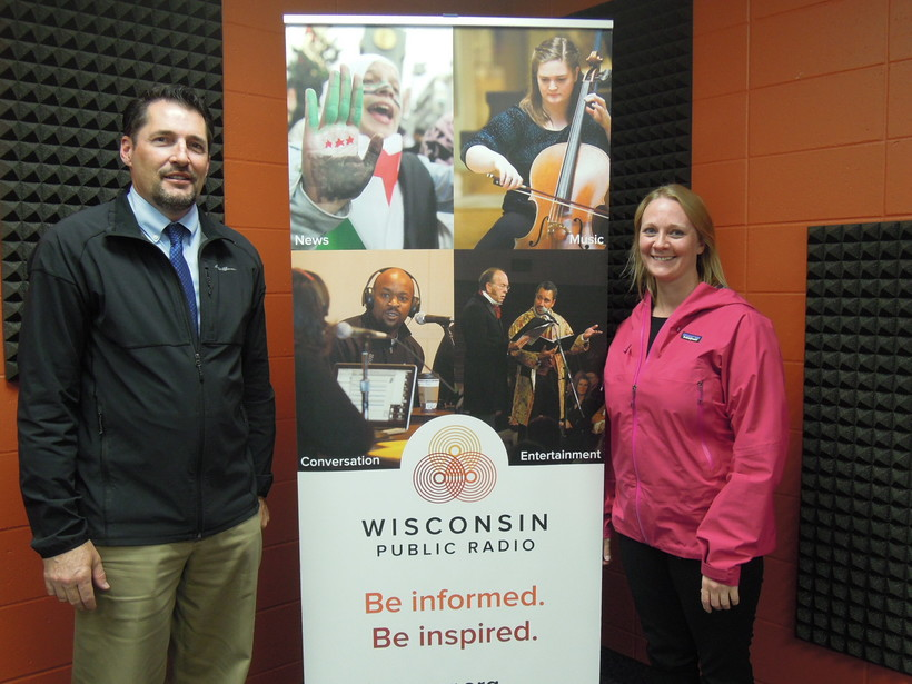 Jason Gilman and Andrea Schnick