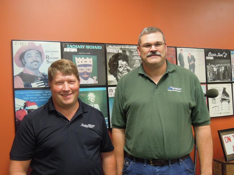 Darin Von Ruden and Bill Halfman