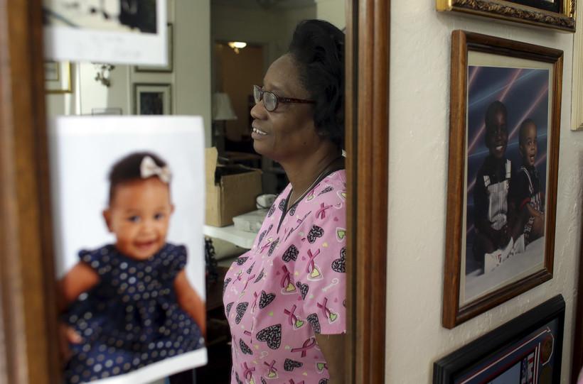Woman Grandma Worker Mirror