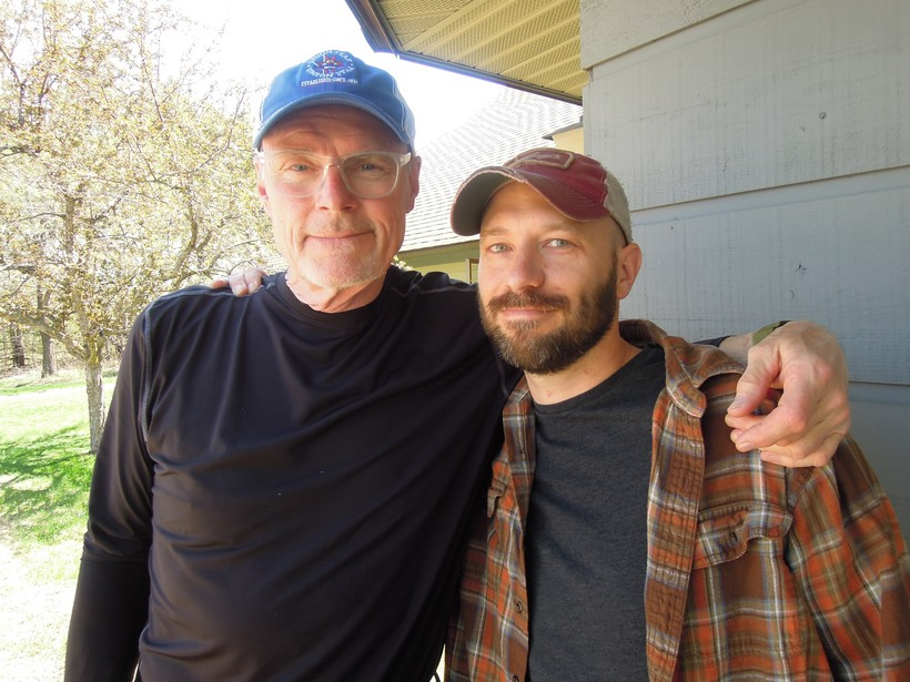 Al Ross and Greg Gilbertson