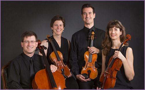 Photo of the Ancora String Quartet